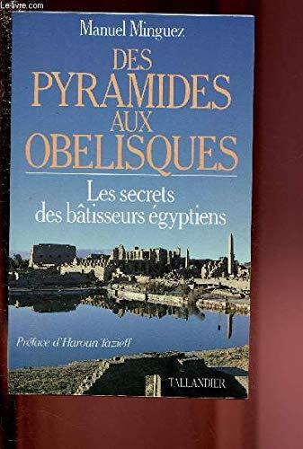 9782235017251: Des pyramides aux ob�lisques