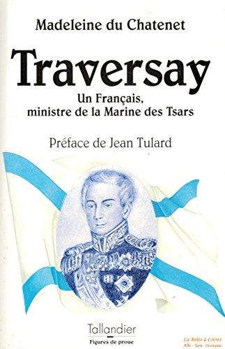 9782235021593: L'amiral Jean-Baptiste de Traversay : Un Fran�ais ministre de la marine des tsars