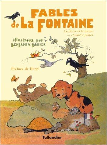 FABLES DE LA FONTAINE. Tome 2: Rabier, Benjamin