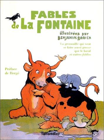 LES FABLES DE LA FONTAINE. Tome 4: Rabier, Benjamin