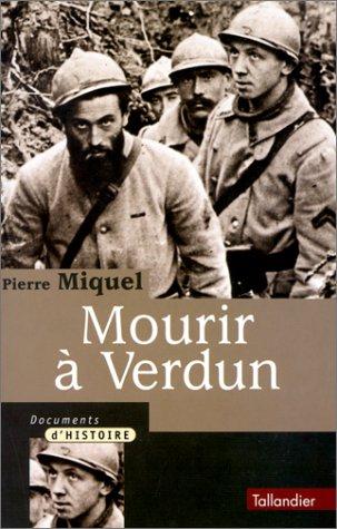 9782235022804: Mourir � Verdun