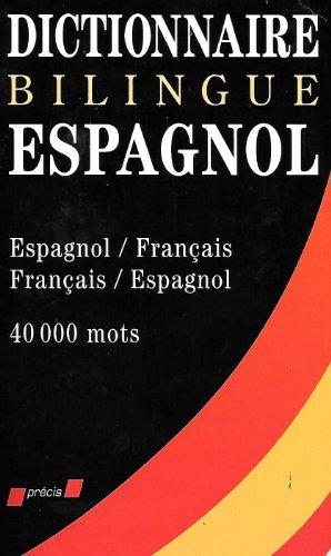 9782237000022: Dictionnaire Bilingue Espagnol.