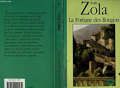 9782237000534: La Fortune des Rougon (Les Rougon-Macquart, #1)