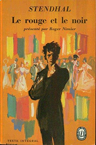9782237000633: Le rouge et le noir (Grands classiques)