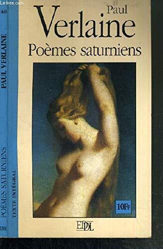 9782237000732: Poèmes Saturniens