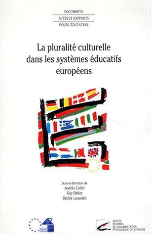 9782240003331: pluralite culturelle dans les systemes educatifs europeens
