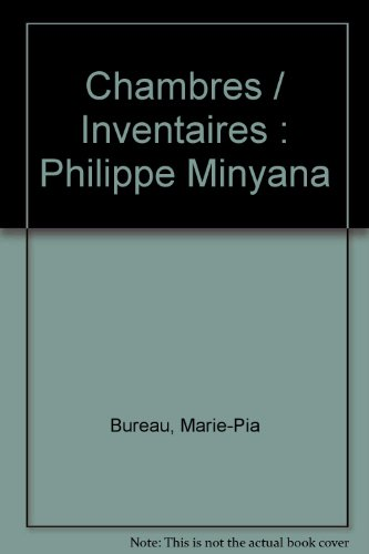 9782240006554: Chambres / Inventaires : Philippe Minyana