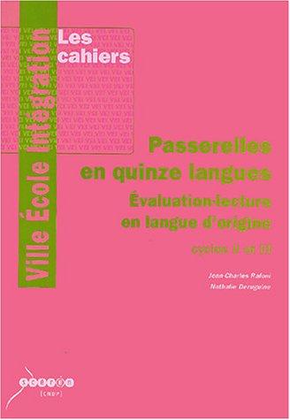 PASSERELLES EN 15 LANGUES DE DERUGUINE: DERUGUINE NATHALIE