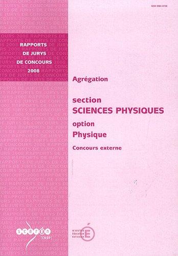 9782240028709: Agrégation Sciences physiques, Option physique : Concours externe