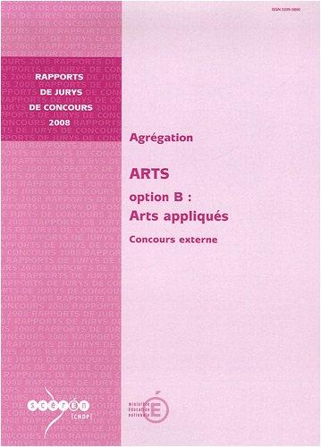 9782240029195: Agrégation Arts, Option B : Arts appliqués : Concours externe