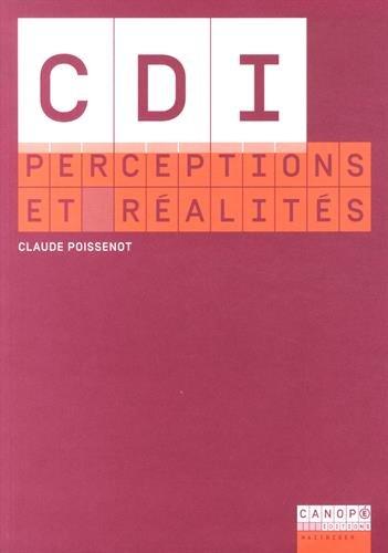 9782240034694: CDI : perceptions et réalités