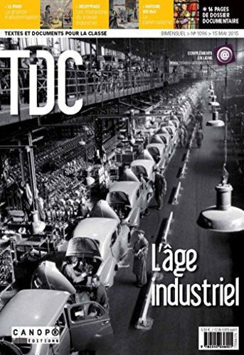 9782240036001: Tdc 1096 : l'Age Industriel
