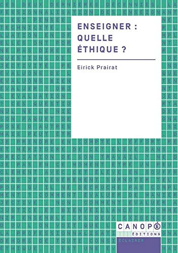 9782240038814: Quelle Éthique pour l Enseignant