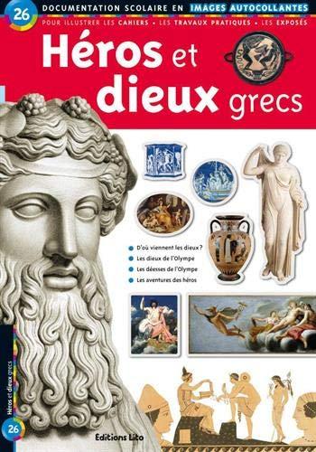 9782244025261: Héros et Dieux Grecs : Documentation scolaire en images autocollantes - Dès 7 ans
