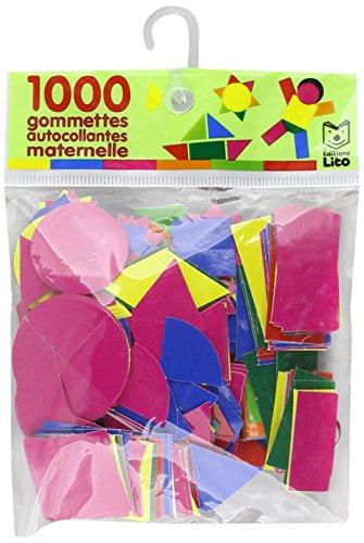 9782244065502: 1000 gommettes autocollantes maternelle