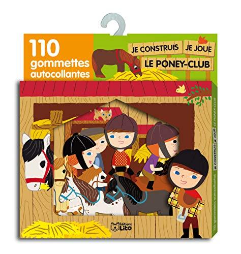9782244066363: Je construis, je joue Le poney-club (French Edition)