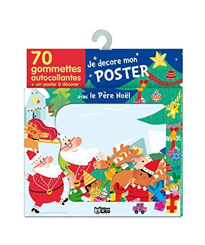 9782244066677: Je Decore Mon Poster avec les Gommettes : le Pere Noël