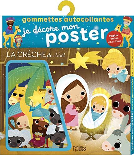 9782244066813: Je décore mon poster avec les gommettes: La crèche de Noël- De 3 à 5 ans