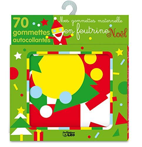 9782244067070: Mes Gommettes de Noël en Feutrine - Dès 3 ans