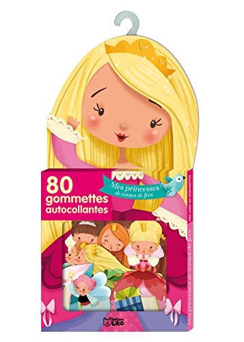 9782244067506: Mes Amis en Gommettes : Mes Princesses de Contes de Fees - De 3 à 5 ans