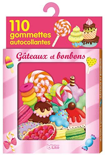 9782244067674: Bonbons et gâteaux : Avec 110 gommettes autocollantes