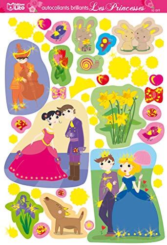 9782244069562: Autocollants brillants Les Princesses (French Edition)