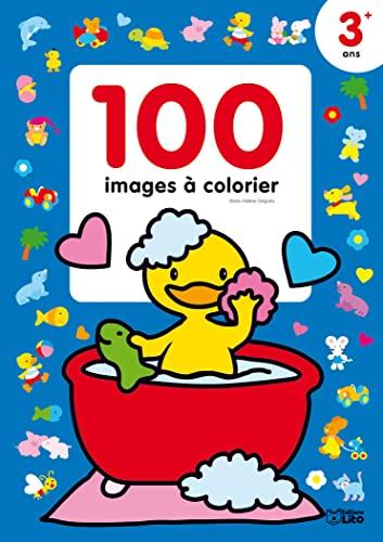 9782244101248: 100 Images a Colorier : Le Canard dans sa baignoire - Dès 3 ans