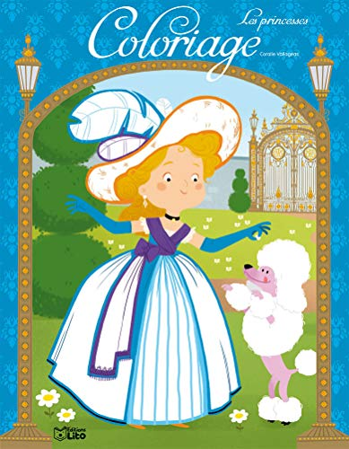 Color.merveil.princesse bleue (Mon coloriage merveilleux): Coralie Vallageas