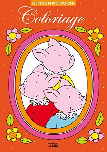 9782244102924: Les trois petits cochons Coloriage