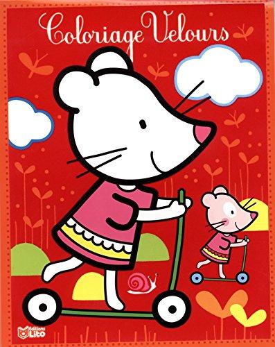 9782244103839: La petite souris (Mes petits tableaux en velours à colorier) (French Edition)