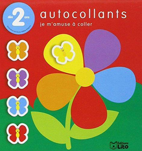 9782244201375: Je M'amuse à Coller : les Papillons et la Fleur - Dès 2 ans