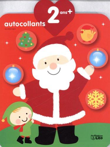 9782244201504: Les Autocollants Qui Font Grandir : le Pere Noël et le Lutin