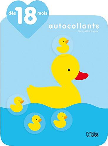9782244201528: Je grandis avec les autocollants : Dès 18 Mois - La maman canard
