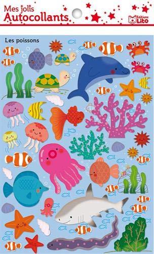 9782244202587: Mes Jolis Autocollants : les poissons - Dès 3 ans