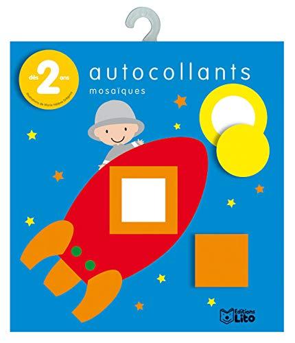 9782244203416: Mini-Bloc Autocollants Mosaiques : Le Cosmonaute - Dès 2 ans