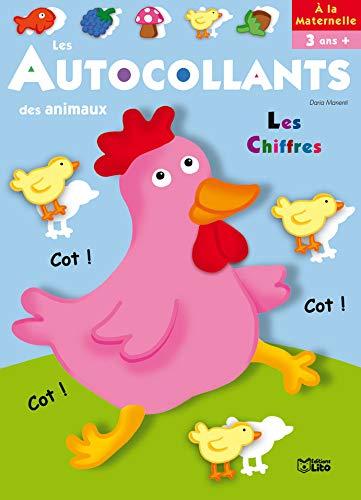 9782244262574: Les Autocollants des Animaux - a la Maternelle : la Poule - D�s 3 ans