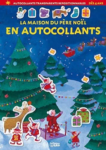9782244267340: La maison du Père Noël en autocollants