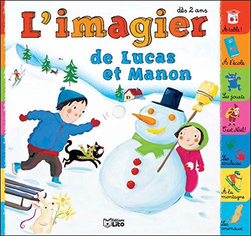 9782244364018: L'imagier de Lucas et Manon dès 2 ans