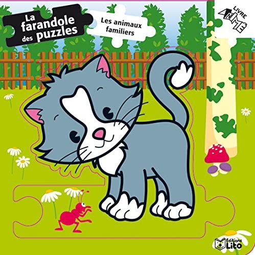 la farandole des puzzles : les animaux: Collectif