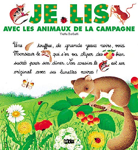 9782244424149: Je lis avec les animaux de la campagne