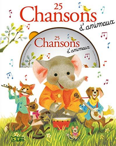 9782244464145: Une Souris Verte : 25 Chansons d'Animaux (avec un CD) - Dès 3 ans