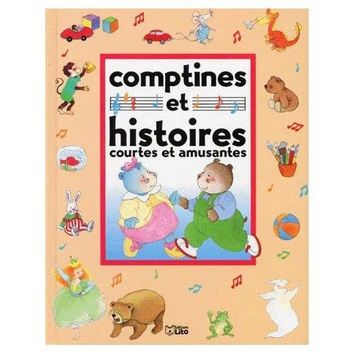 9782244495040: Comptines et histoires courtes et amusantes