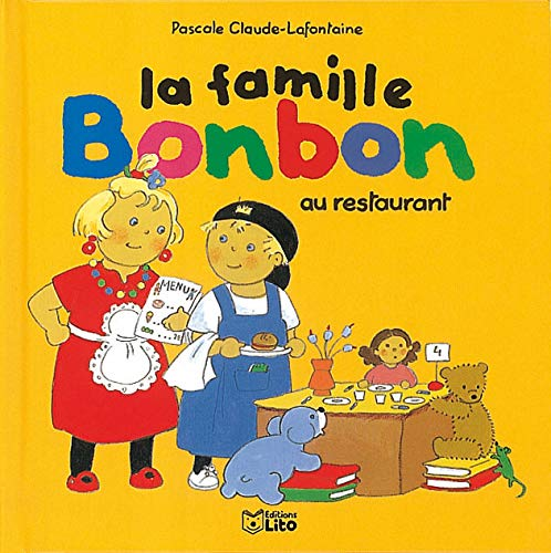 9782244498065: La famille Bonbon au restaurant