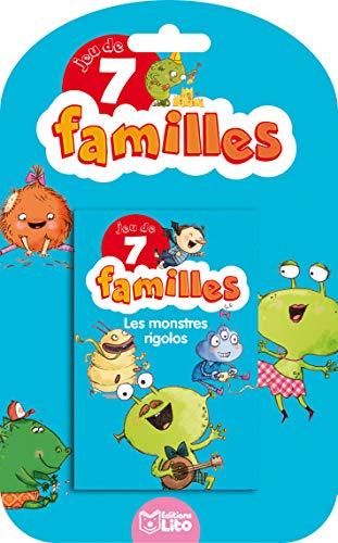 9782244501123: Jeux 7 Familles - les monstres rigolos - dès 5 ans