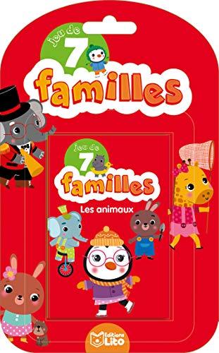 9782244501147: Jeux de 7 familles: Les animaux - Dès 5 ans