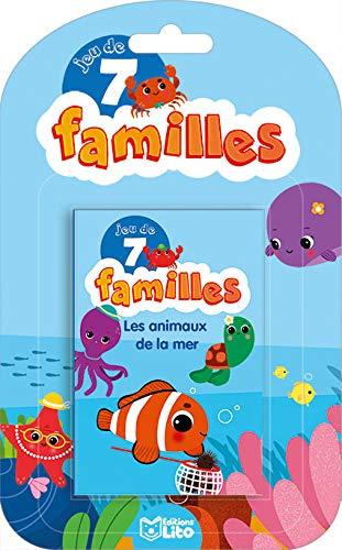 9782244501185: Jeux 7 Familles: Les animaux de la mer - Dès 5 ans