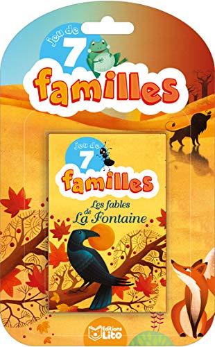 9782244501222: Jeu de 7 familles: Les Fables de La Fontaine - Dès 5 ans