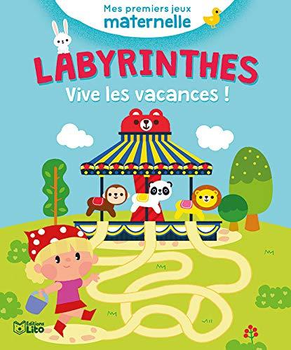 9782244801124: Mes premiers jeux maternelle:Vive les vacances ! - De 3 à 5 ans