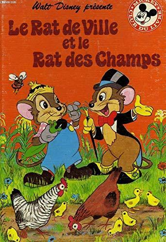 9782245011294: Le Rat de ville et le rat des champs (Mickey club du livre)
