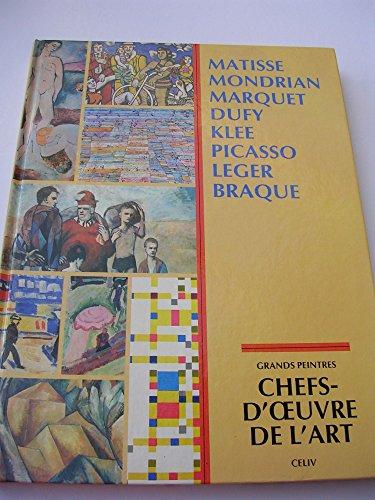 CHEFS-D'OEUVRE DE L'ART, GRANDS PEINTRES, LES AVANT-GARDES: COLLECTIF